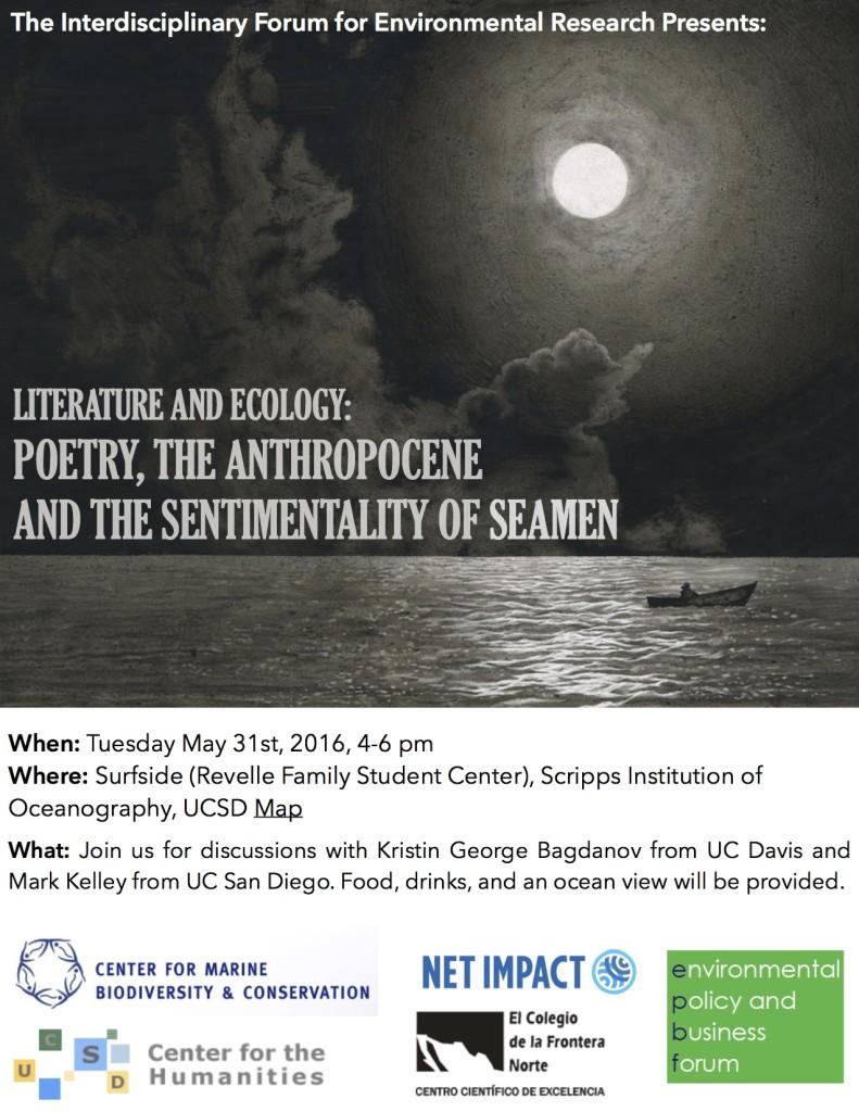 Poetry Anthropocene Ocean